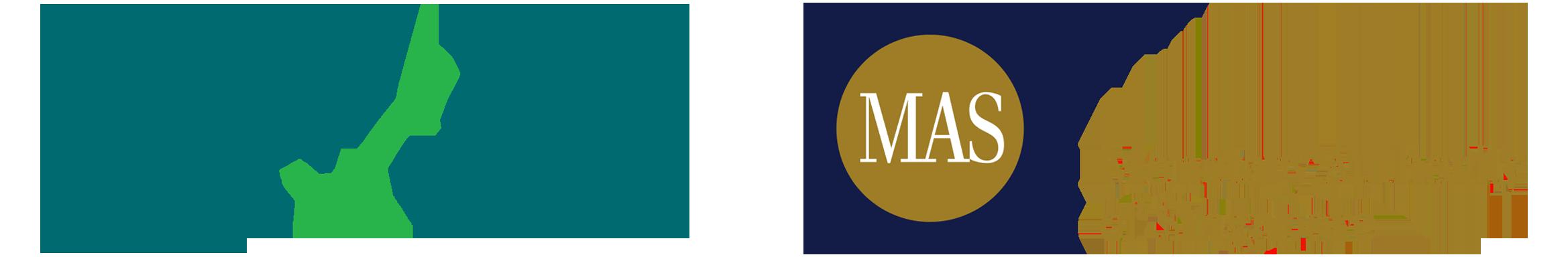 PCI-DSS and Monetary Authority of Singapore (MAS) Logo