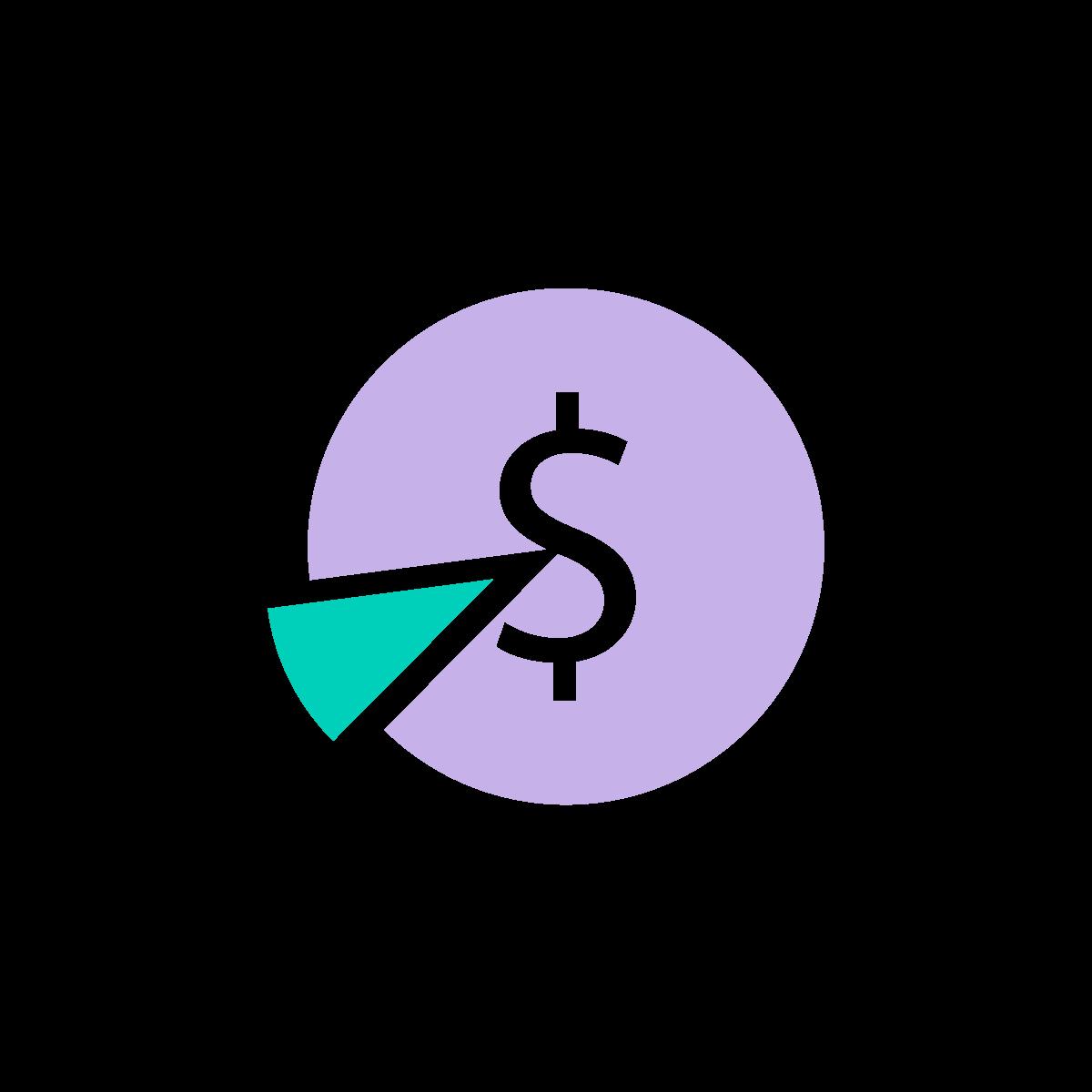 Fee split icon