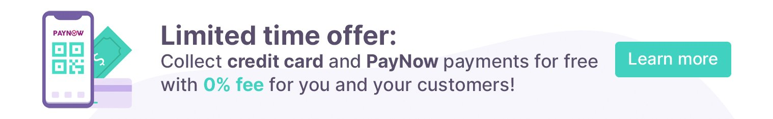 Limited time offer: Collect payments completely free with 0% fee for you and your customers!