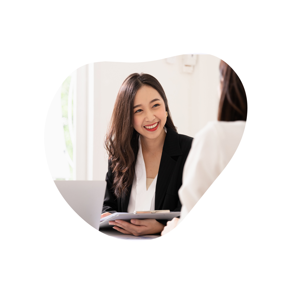 Accounting - Business women smiling
