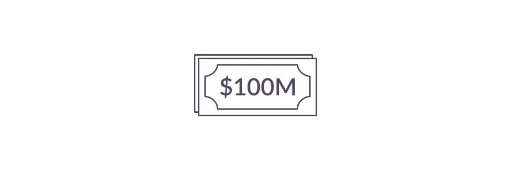 hundred million